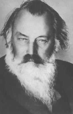 Portrait of Johannes Brahms
