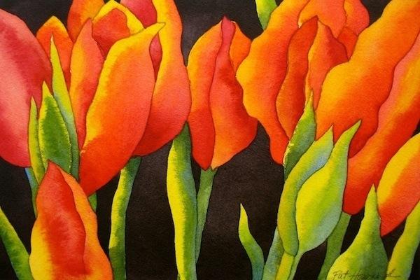 Watercolor by Pat Howard