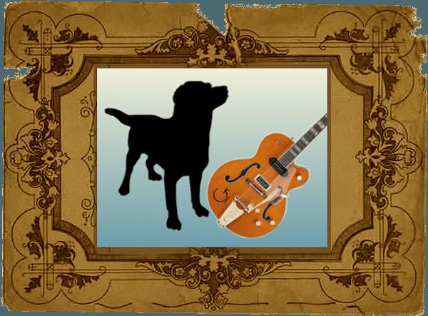 guitar+dog